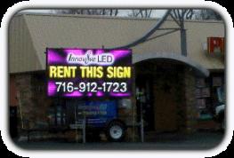 LED Sign Rental