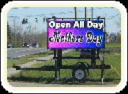 Outdoor Digital Sign Rental
