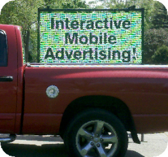 Mobile Advertising Digital Signs