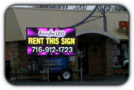 LED Sign Rental